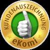 eKomi - top Kundenauszeichnung