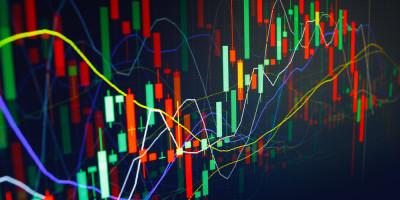 Bild einer Börsenkurve