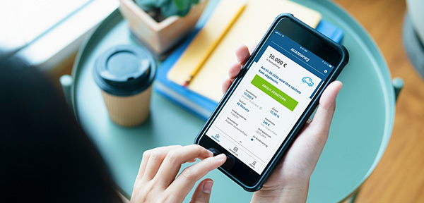 Vorteile der auxmoney App