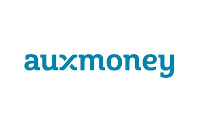 auxmoney Logo blue
