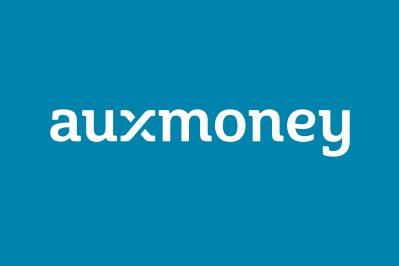 auxmoney Logo white